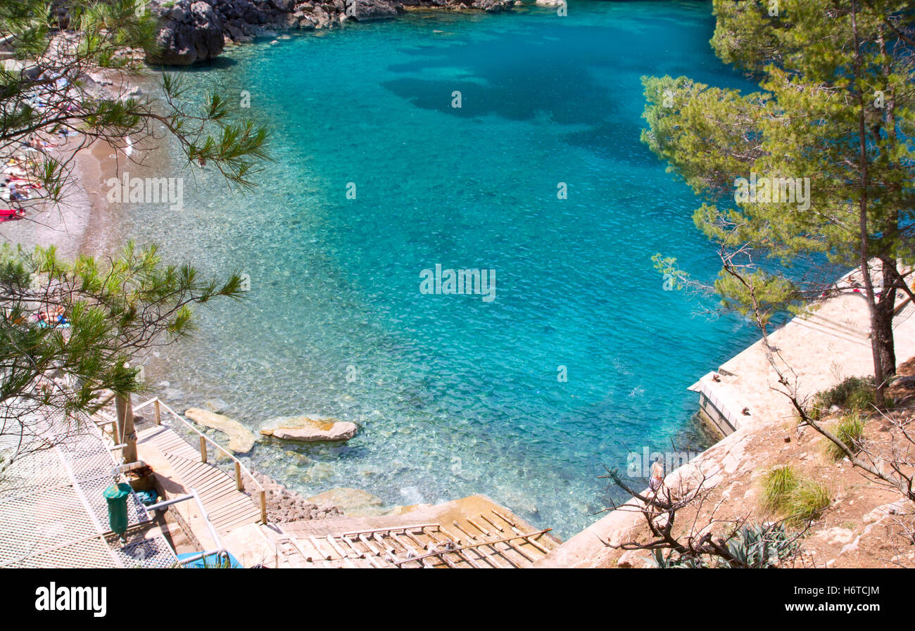 blue beautiful beauteously nice travel spare time free time leisure leisure time holiday vacation holidays vacations - Stock Image