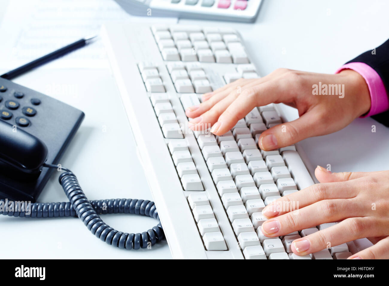 human hand computer keyboard symbol stock photos human hand computer keyboard symbol stock. Black Bedroom Furniture Sets. Home Design Ideas