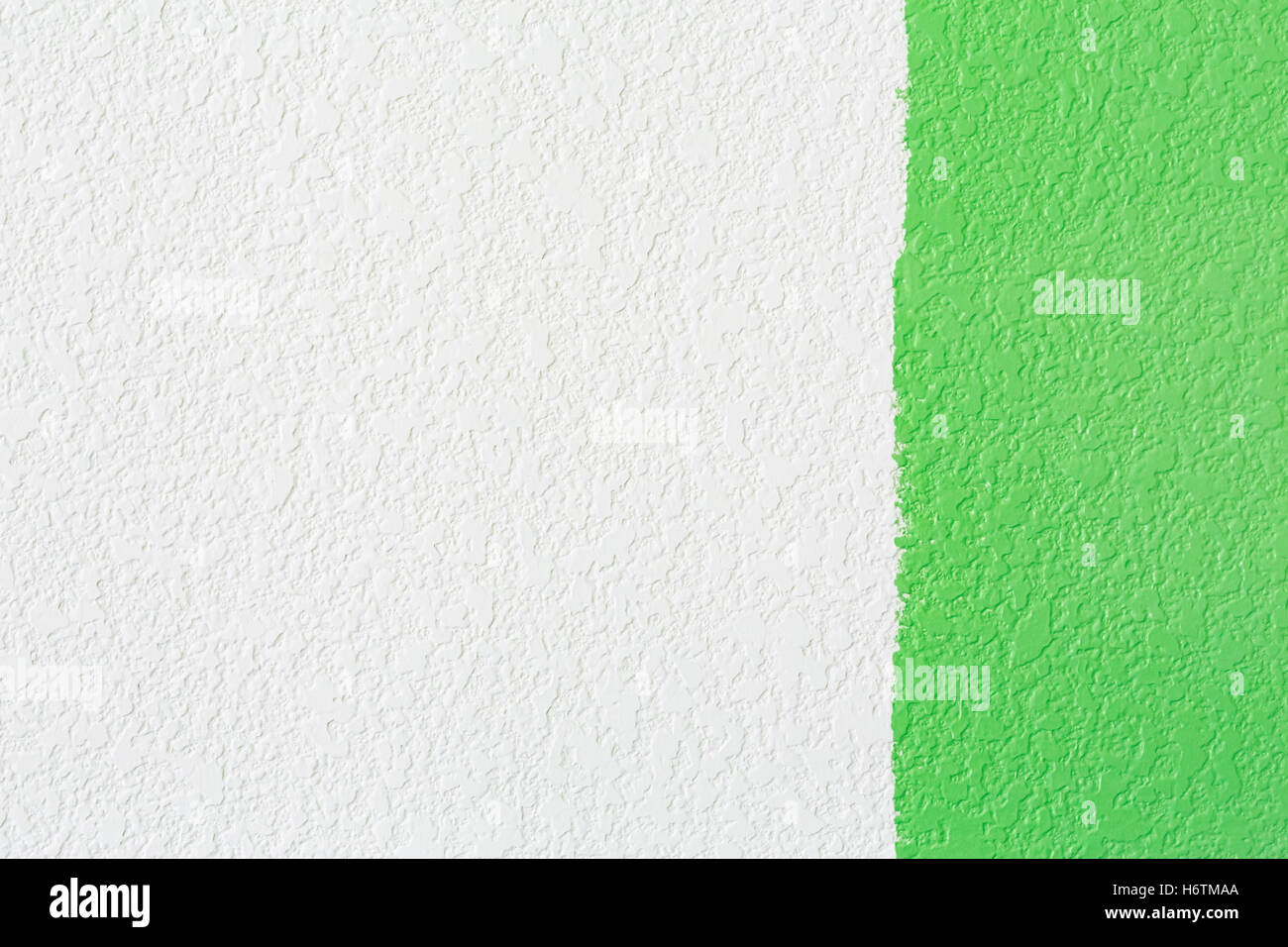 Hand Colour Green Painting Wall Paint Roller Color Home