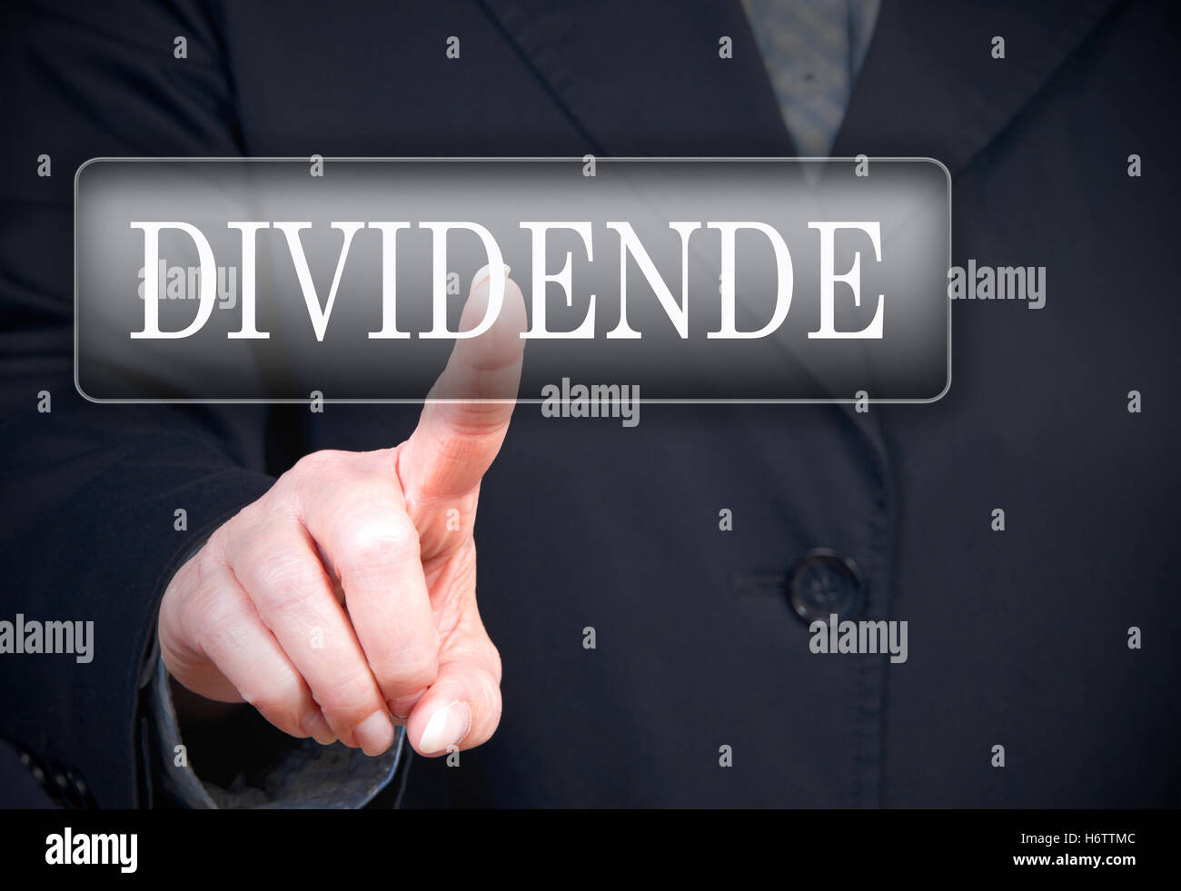 dividend - Stock Image