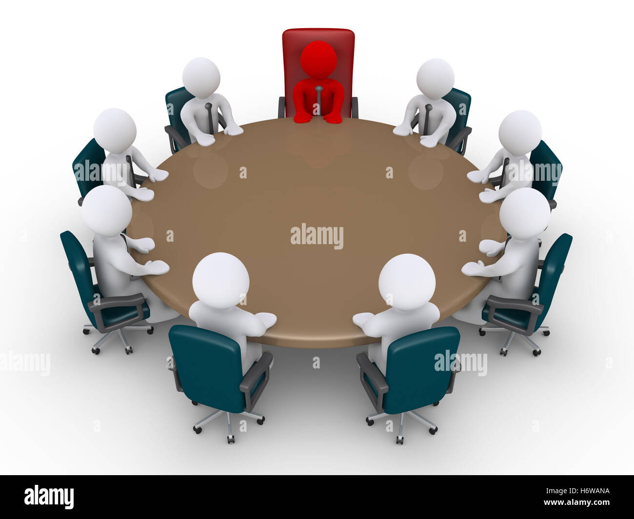 humans human beings people folk persons human human being office discussion men man job firm firmly model design - Stock Image