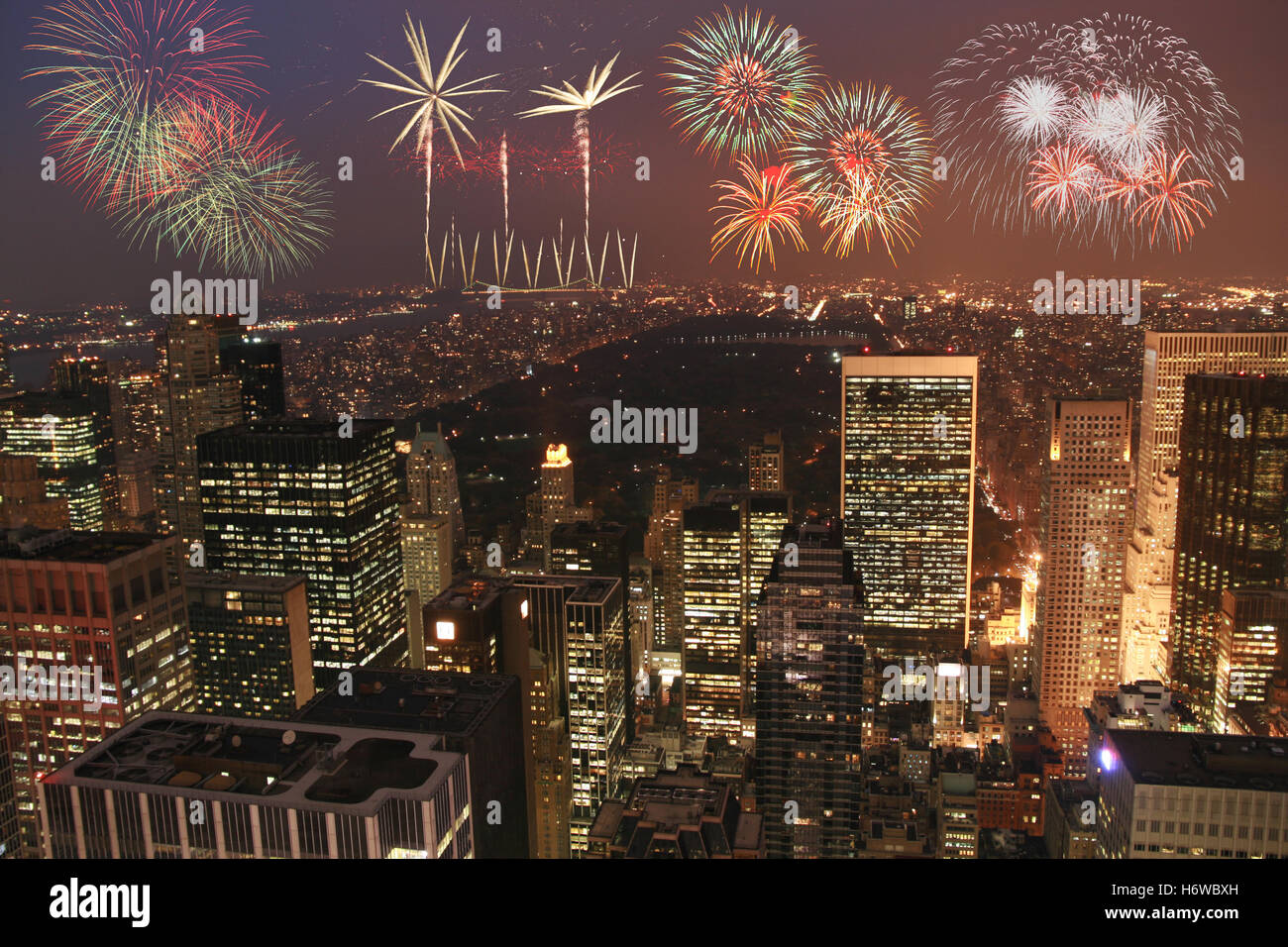 parties holidays - Stock Image