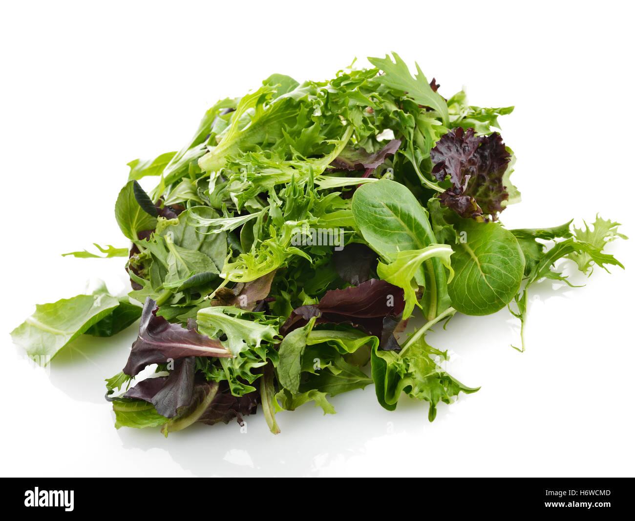 spring bouncing bounces hop skipping frisks jumping jump vegetable vegetarian spinach textured salad food aliment - Stock Image