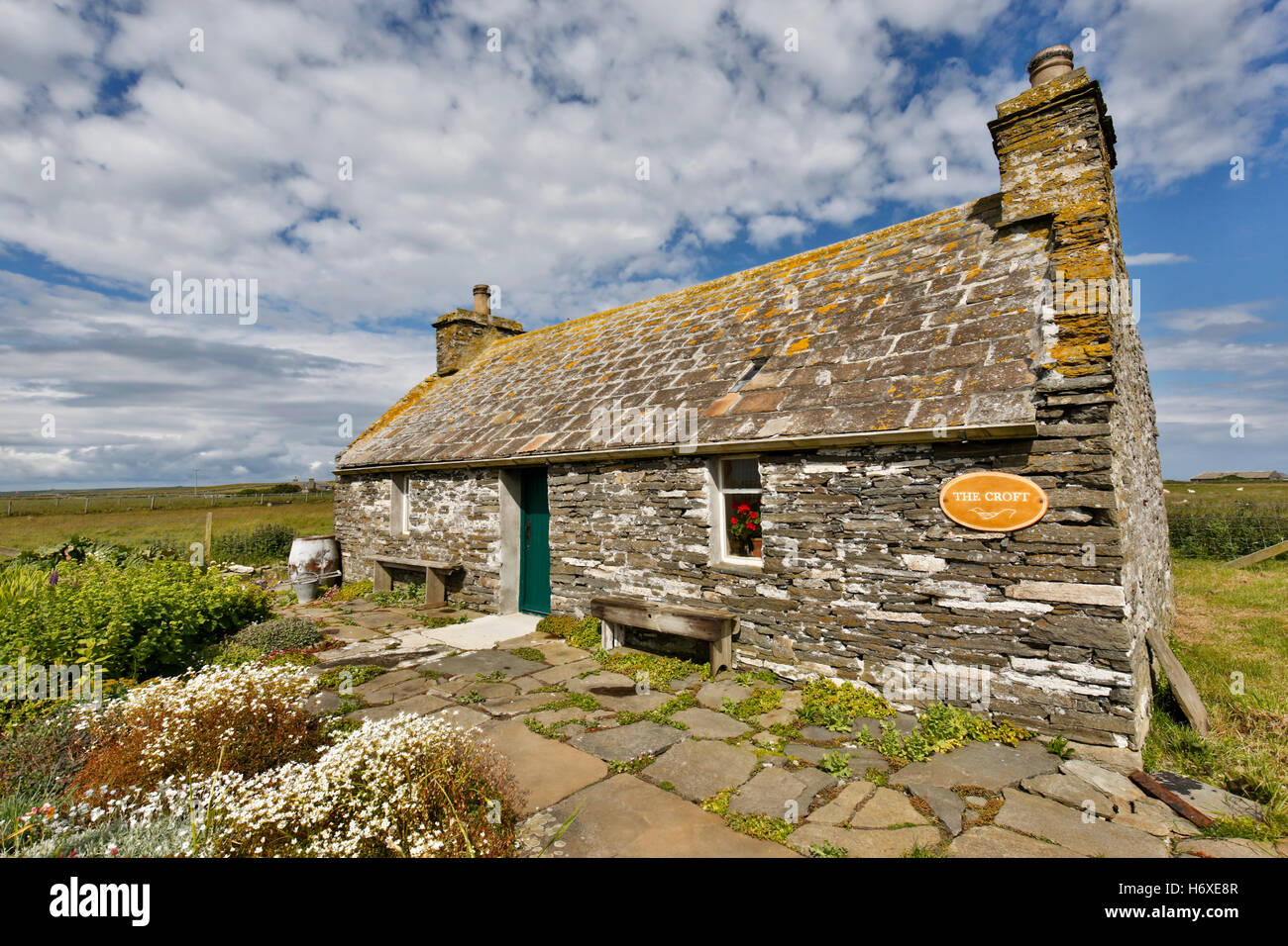 Croft Museum; Sanday; Orkney; UK Stock Photo