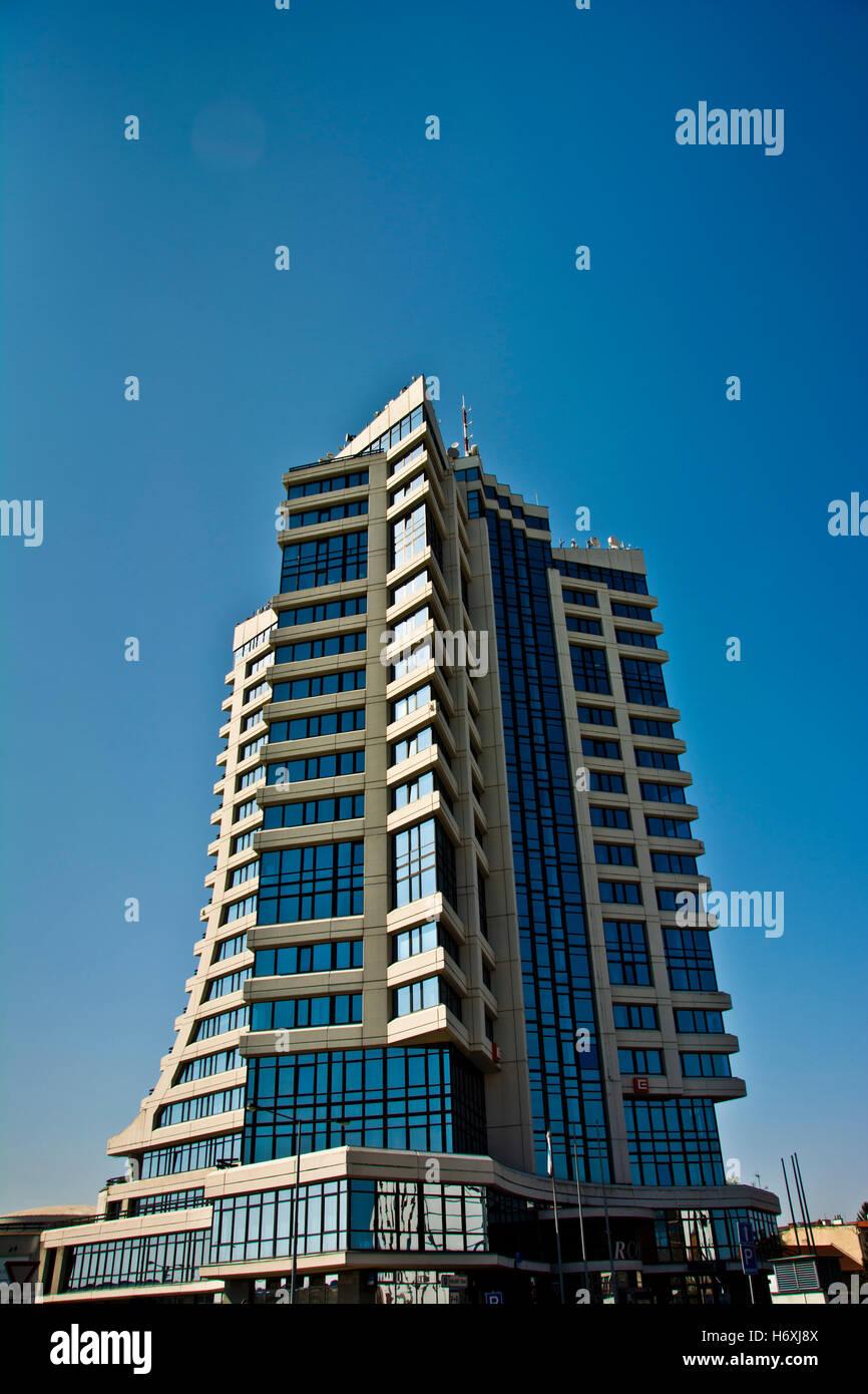 modern building in Olomouc, Czech republic - Stock Image