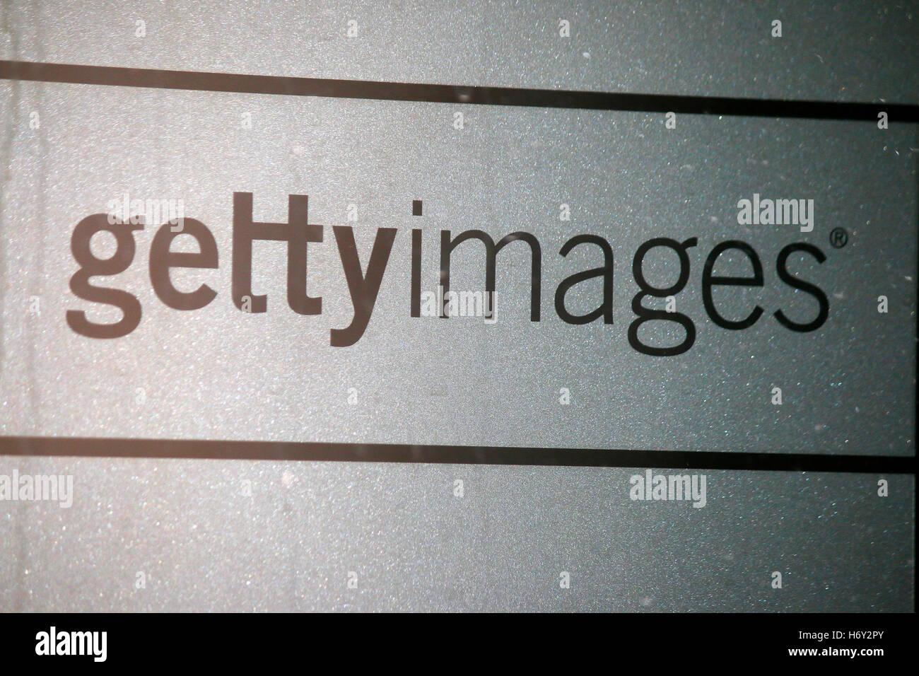 """das Logo der Marke """"Getty Images"""", Berlin. Stock Photo"""