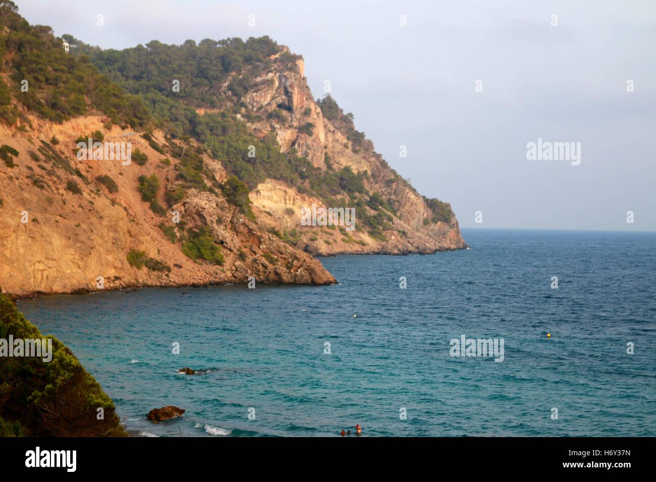 Impressionen: Mittelmeer, Ibiza, Spanien. - Stock Image