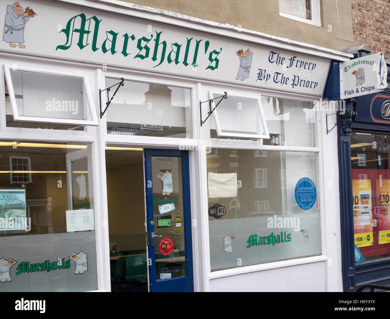 reputable site f2731 ce037 Marshall's Fish and Chip Shop, Front Street, Tynemouth ...