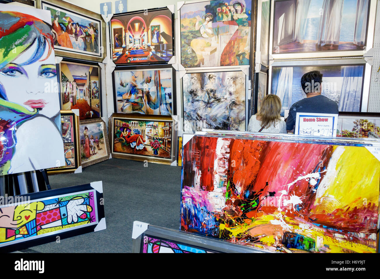 Florida Miami Beach Convention Center Centre Home Design And Remodeling Show  Framed Art Display Sale Gallery