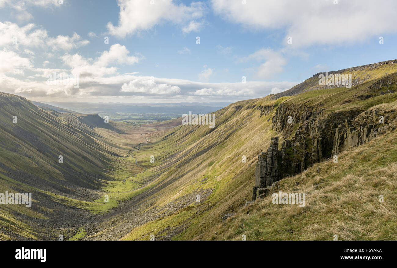 High Cup Nick, North Pennines - Stock Image