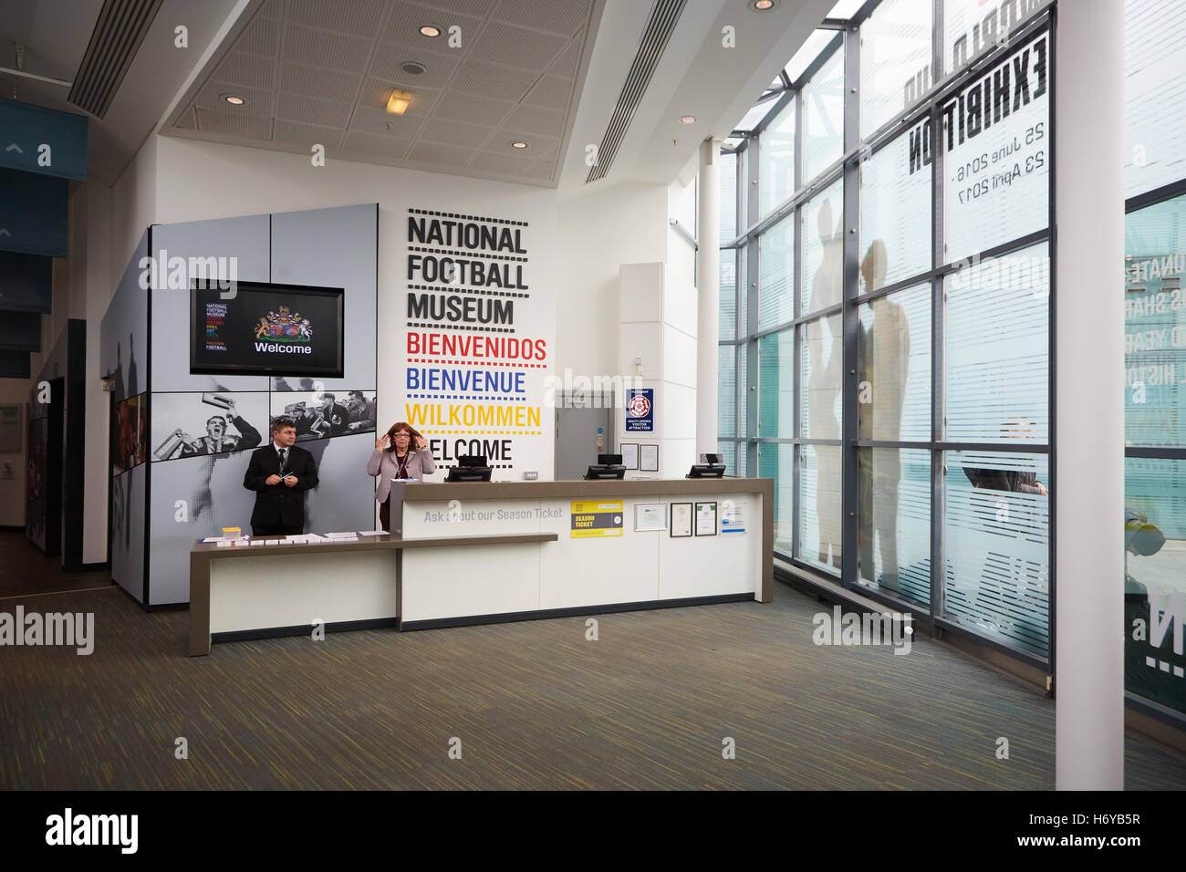 Urbis, National Football Museum in Manchester - Stock Image