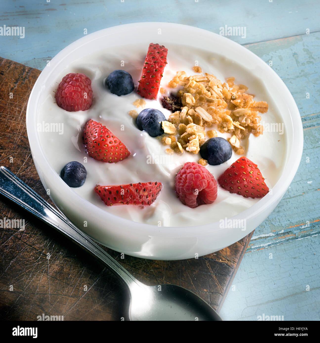 yogurt bowl - Stock Image
