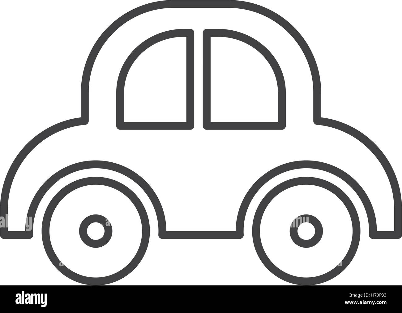 Miniature Car Stock Vector Images - Alamy on