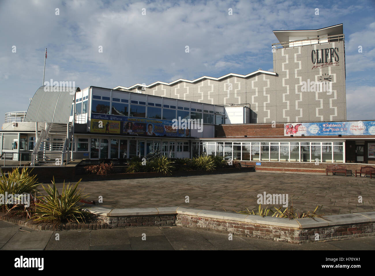 Cliffs Pavilion, Station Road, Westcliff-on-Sea, Southend-on-Sea, Essex, England Stock Photo
