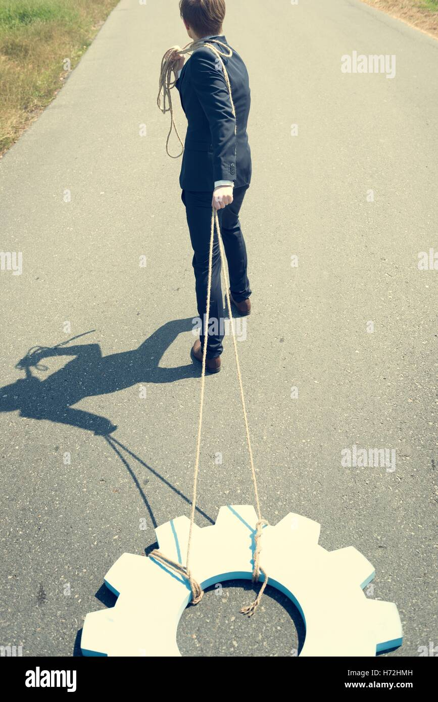 Business Contracted Condition Accountability Concept - Stock Image
