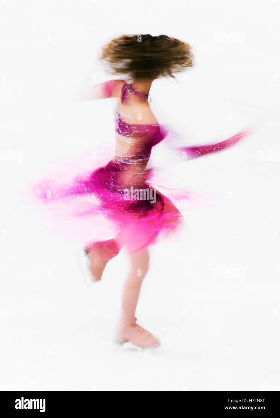 Figure skater - Stock Image