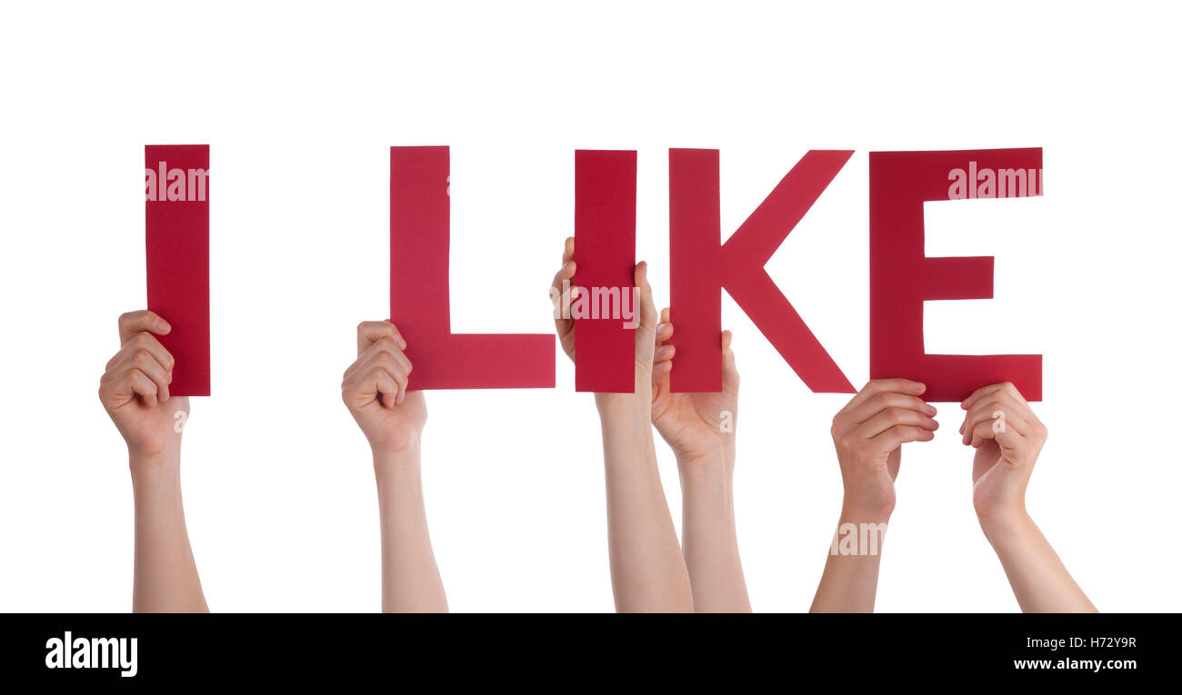 humans human beings people folk persons human human being hand hands isolated social horizontal letters word networking - Stock Image