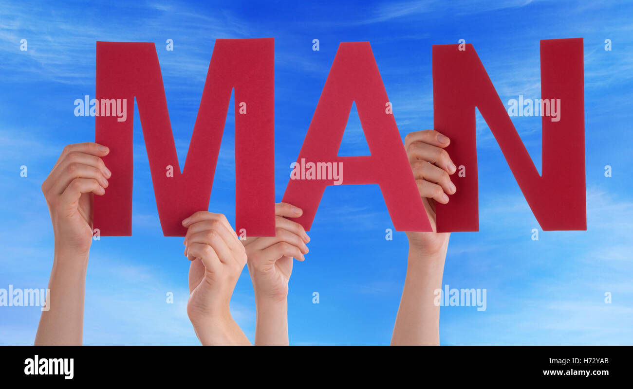 humans human beings people folk persons human human being career men man hand hands model design project concept - Stock Image