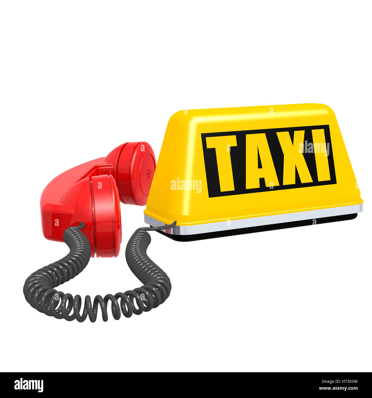 telephone phone order call travel isolated model design project concept plan draft ride public traffic transportation - Stock Image