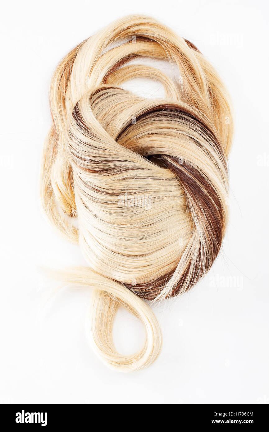 Nairy blonde mature
