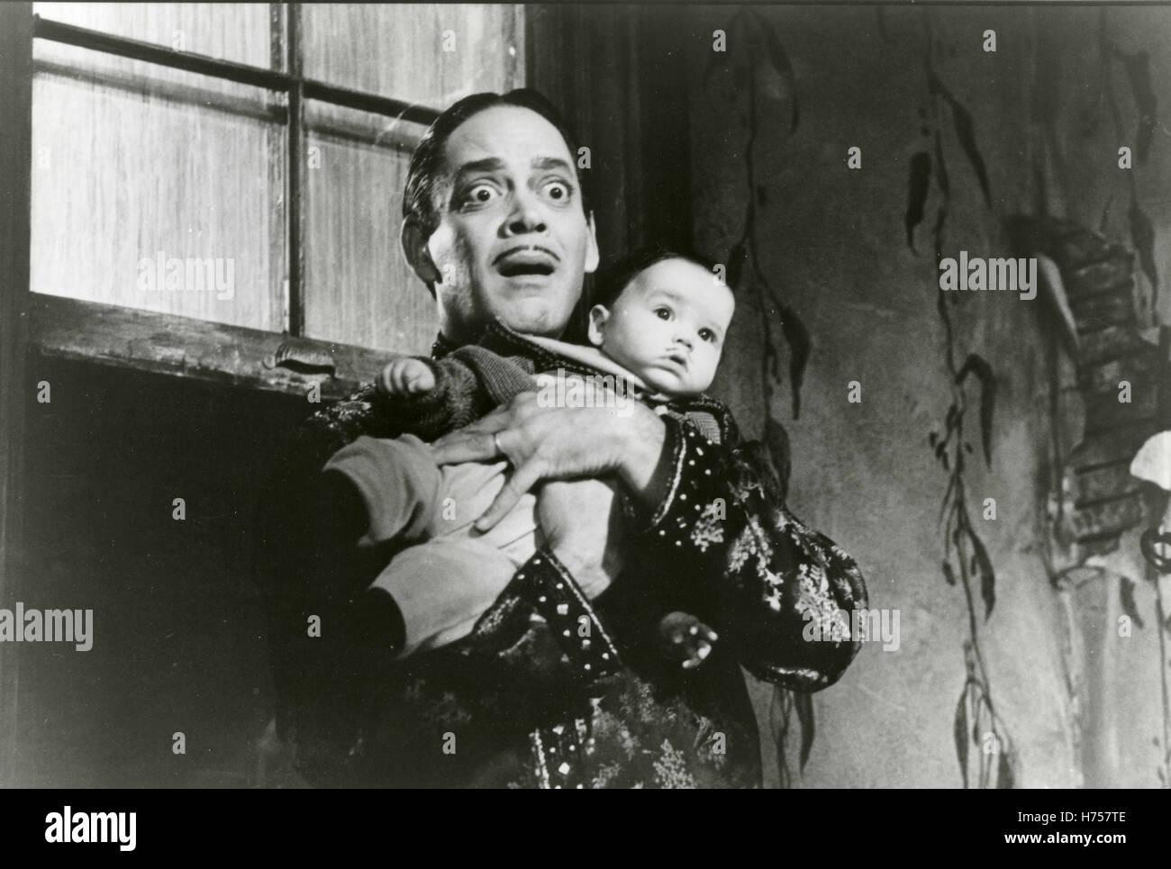 Roul Julia Gomez Addams, Addams Family Values - Stock Image