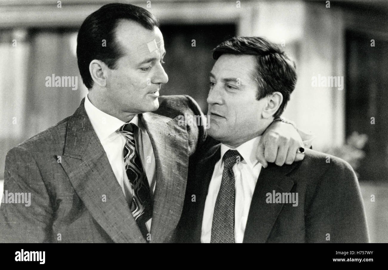 Robert De Niro and Bill Murrey in the movie Mad Dod and Glory, USA 1992 - Stock Image