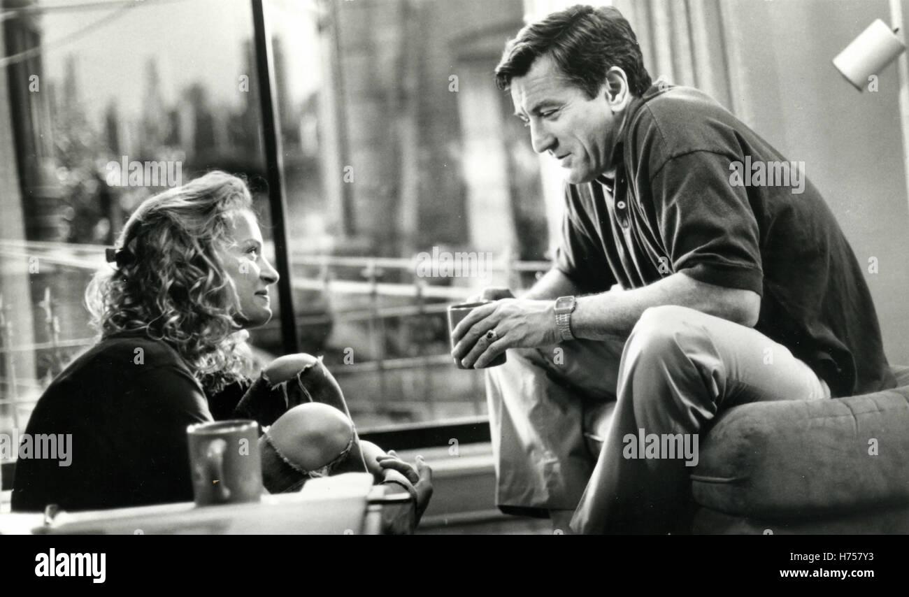 Robert De Niro and Uma Thurman in the film Mad Dod and Glory, USA 1992 - Stock Image