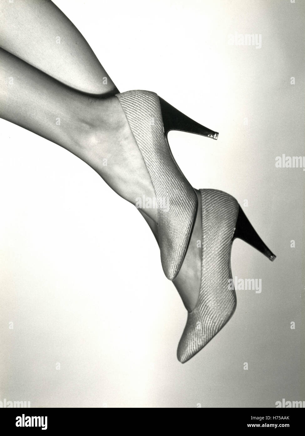Shoes by Christian Dior, Paris, France 1987 - Stock Image