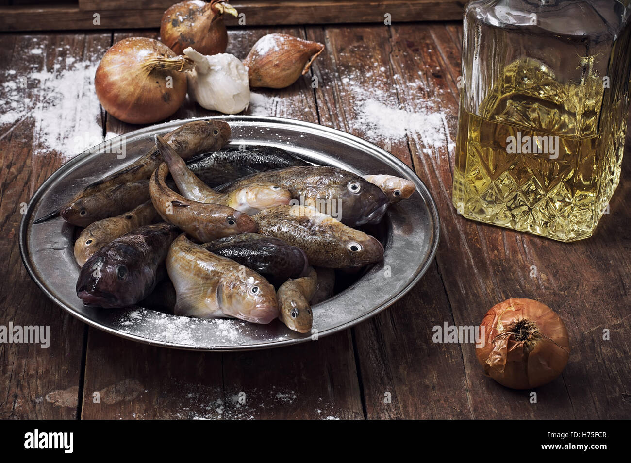 fishes crustaceans - Stock Image