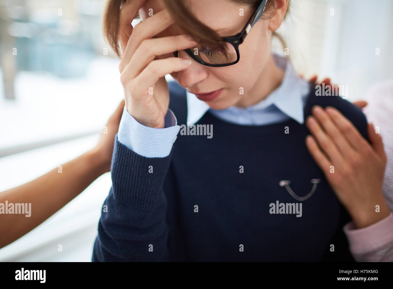 Despair - Stock Image