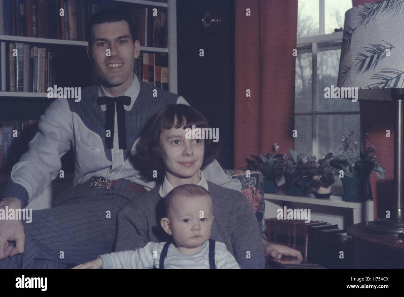 Vintage archival photograph taken in 1955 - Stock Image