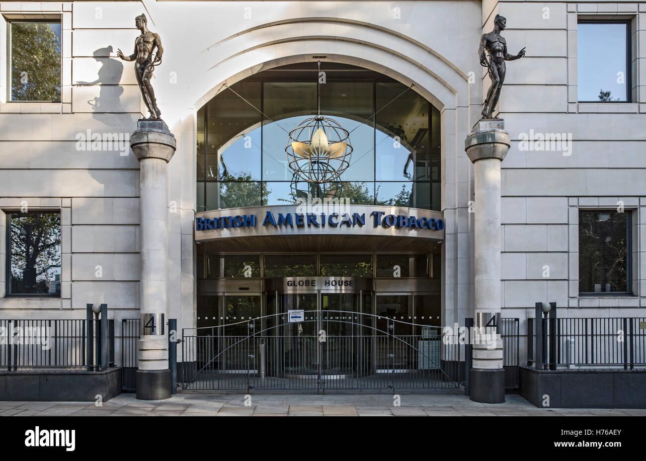 British American Tobacco Hq Globe House Wc2 London