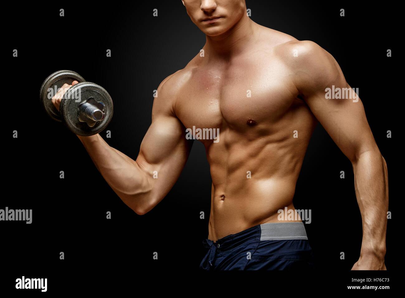 Pecs Arms Biceps Stock Photos Pecs Arms Biceps Stock Images Alamy