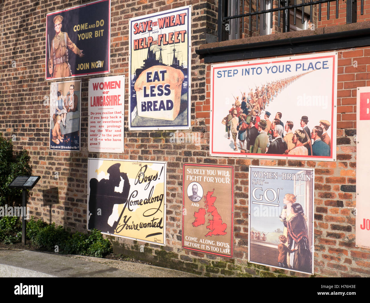 Old Advertisement Posters Stock Photo 124920306