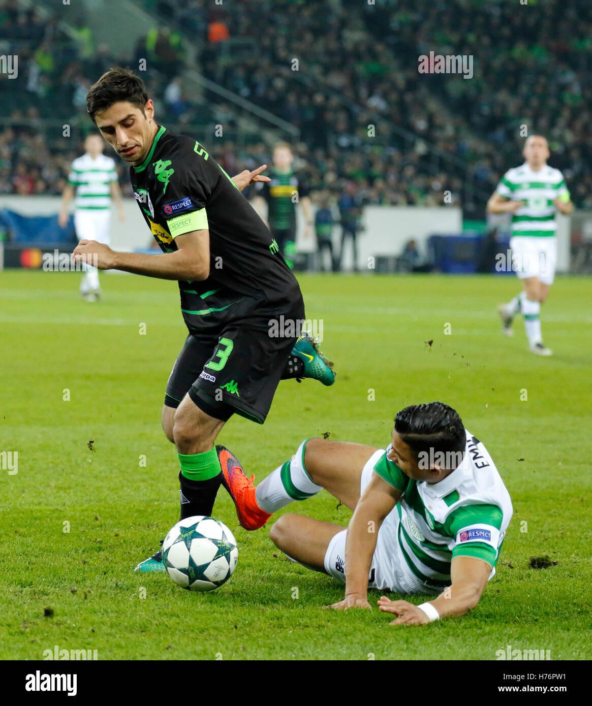 sports, football, UEFA Champions League, 2016/2017, Group Stage, Group C, Matchday 4, Borussia Moenchengladbach Stock Photo