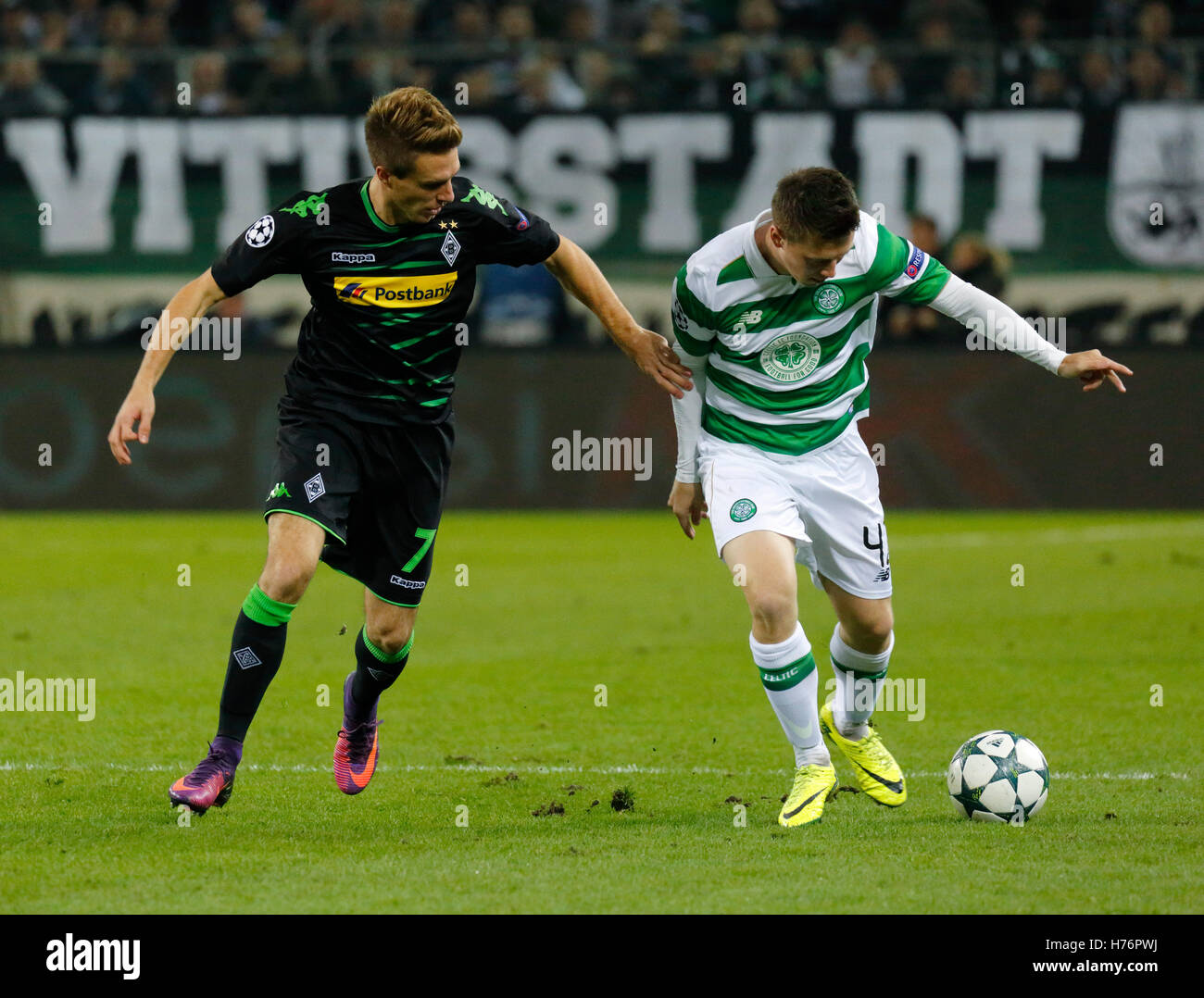 sports, football, UEFA Champions League, 2016/2017, Group Stage, Group C, Matchday 4, Borussia Moenchengladbach - Stock Image