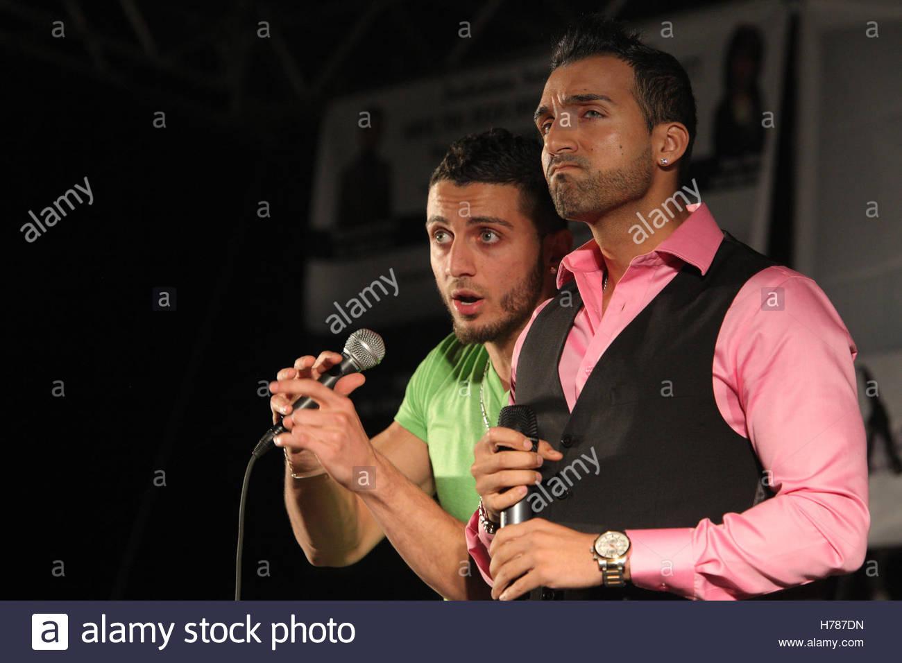 Pakistani Canadian Singers And Rappers Sham Idrees And Karter Zaheri Stock Photo Alamy