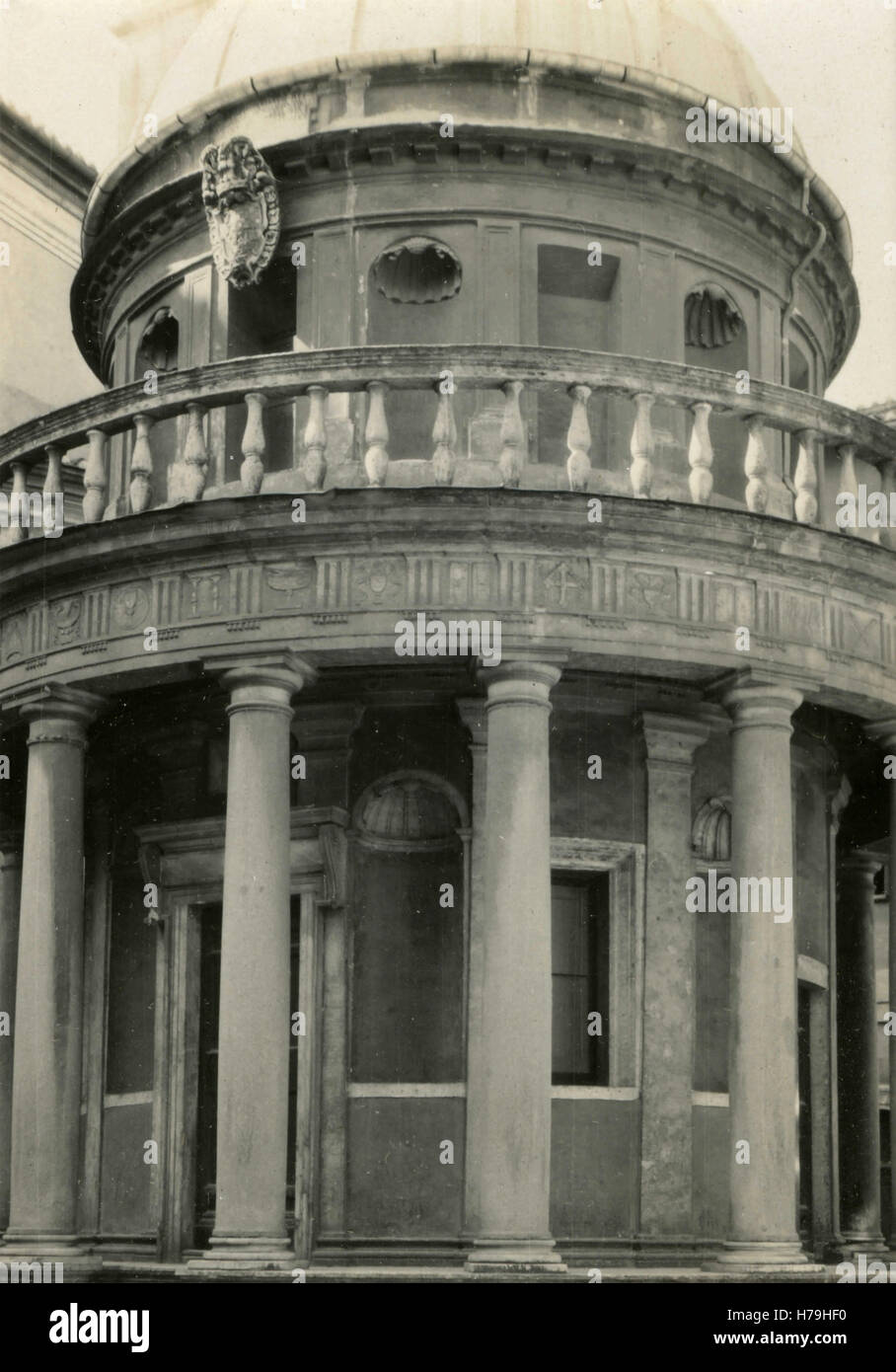 Tempietto in St. Peter in Montorio, Rome, Italy - Stock Image