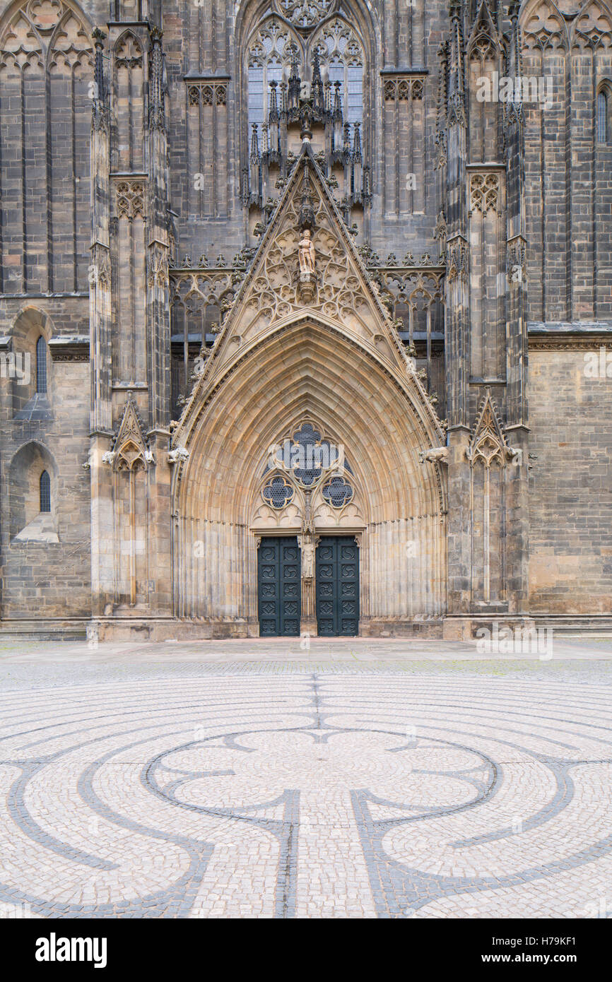 St Mauritius and St Katharina Cathedral, Magdeburg, Saxony-Anhalt, Germany - Stock Image