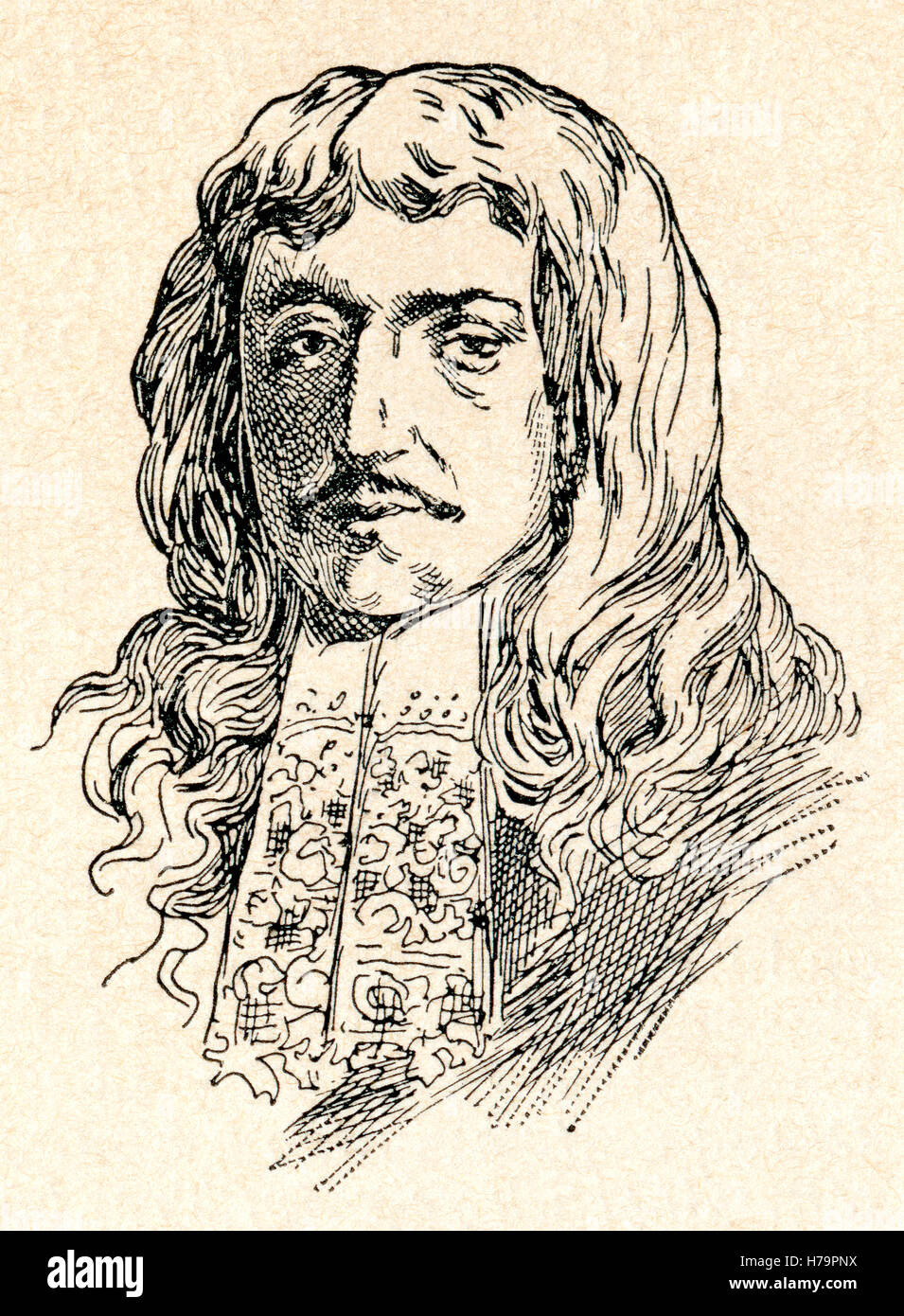 Godefroi, Comte d'Estrades, 1607 – 1686.  French diplomat and marshal. - Stock Image