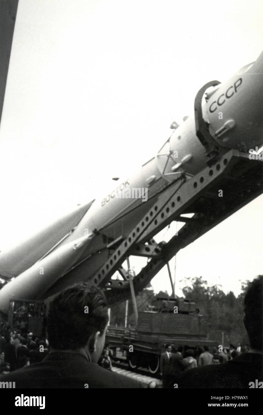 The Boctok rocket, USSR - Stock Image