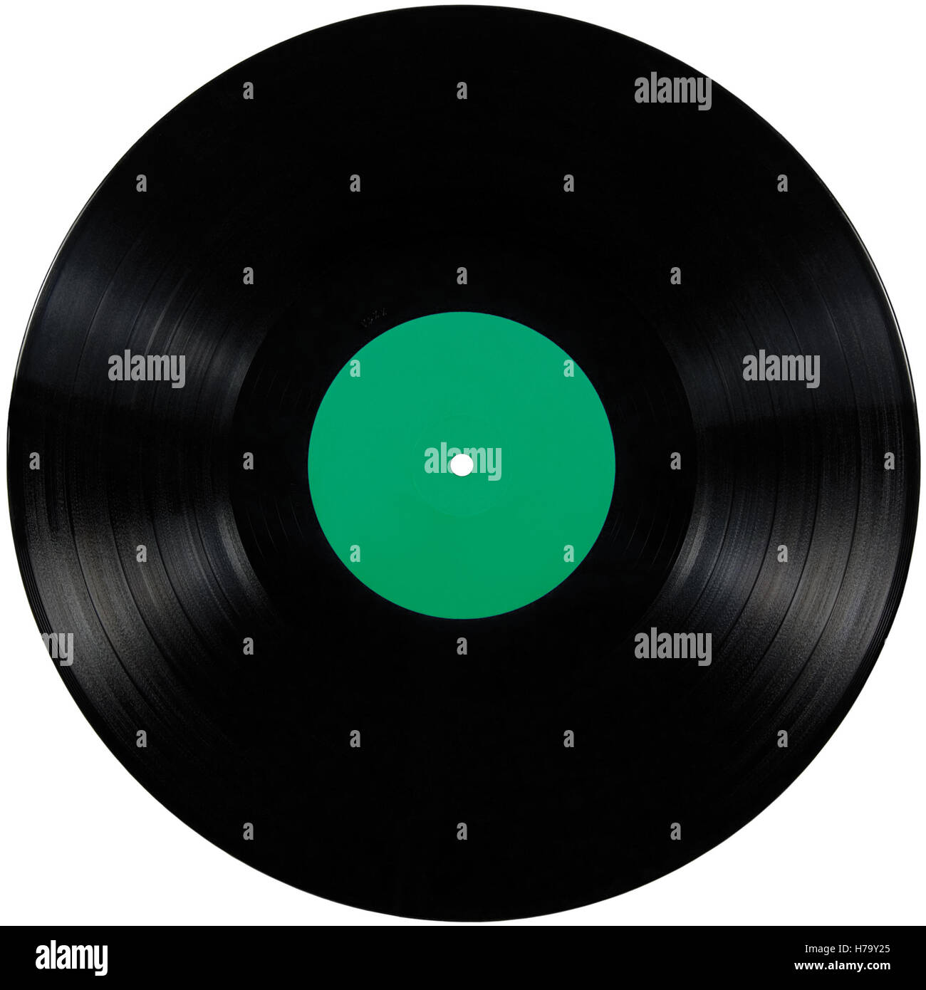 black vinyl record lp album disc isolated long play disk empty blank