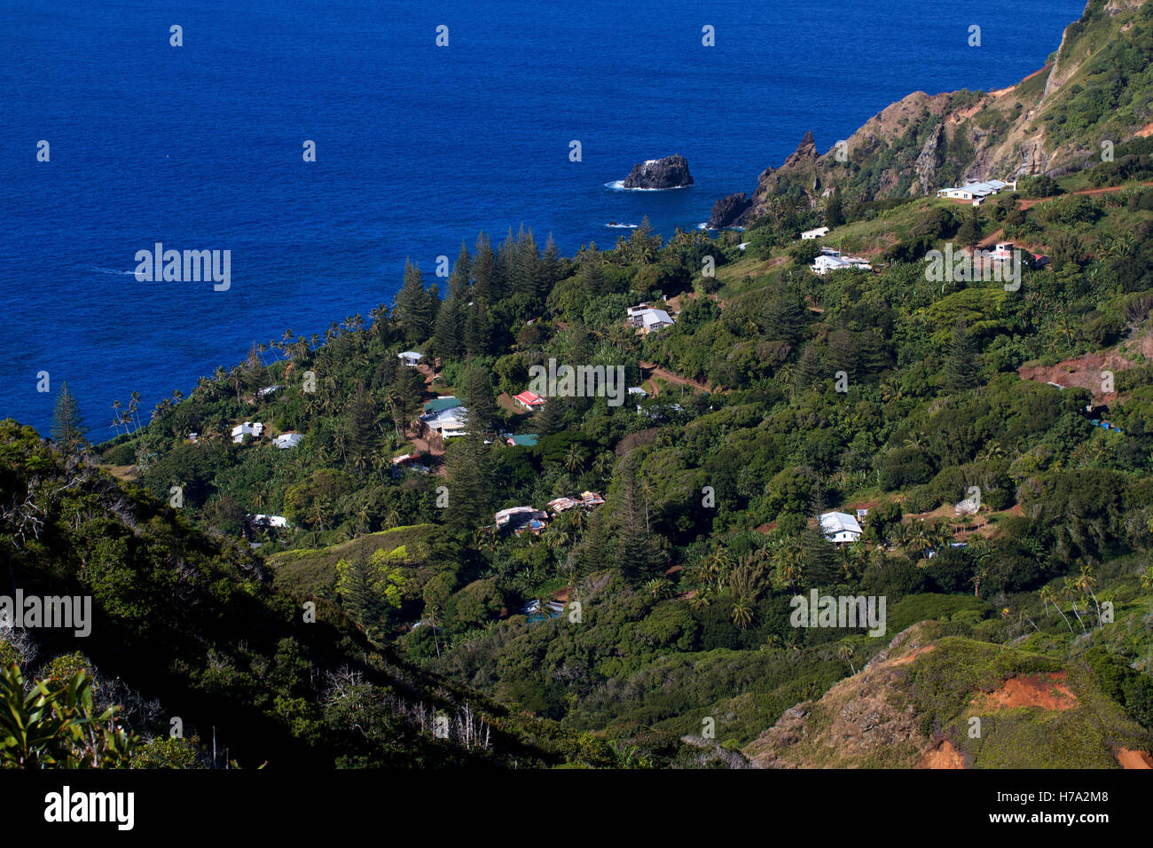 On Pitcairn Island High Resolution Stock Photography And Images Alamy