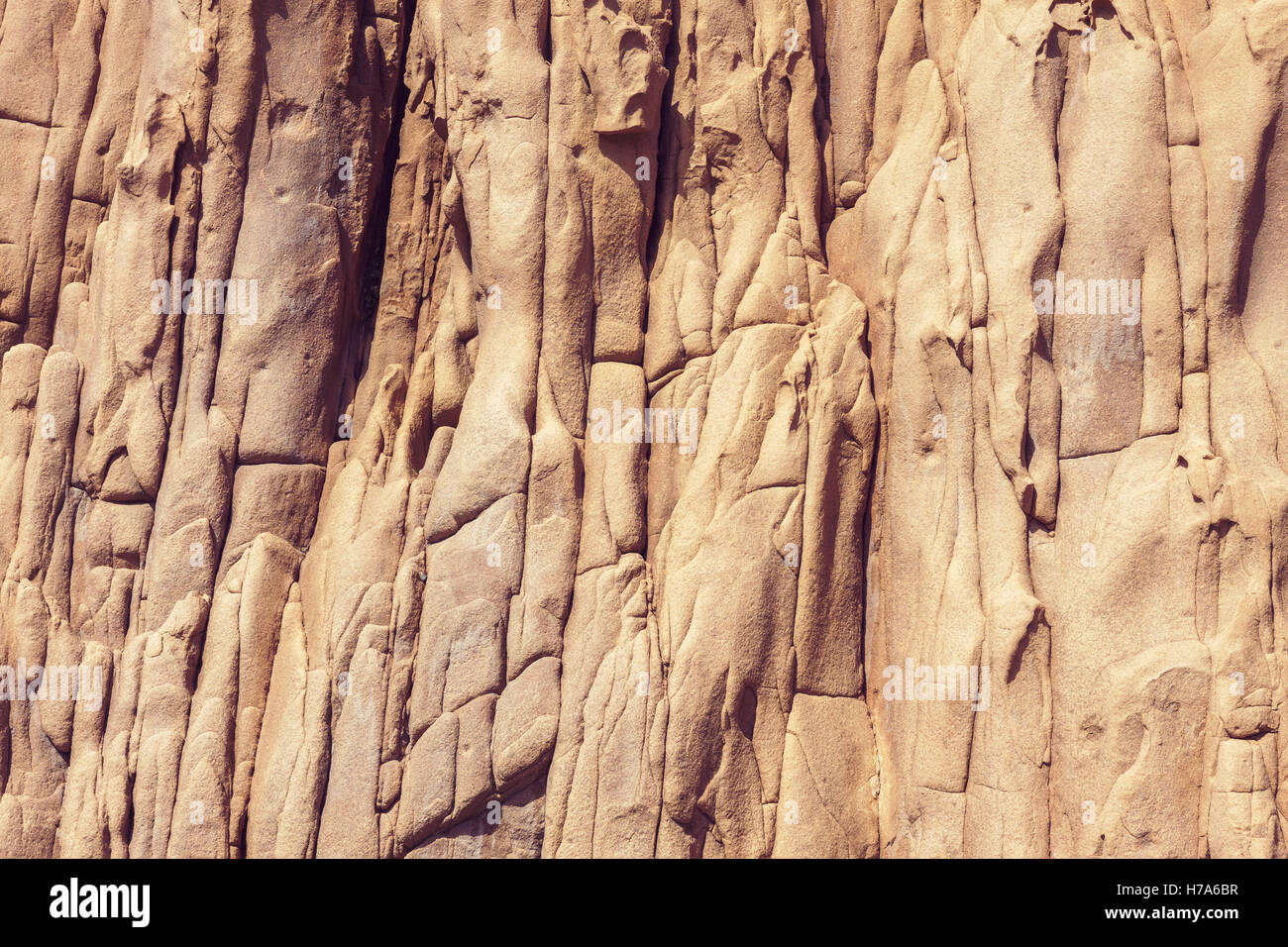 Mountain detail, natural solid rock background Stock Photo
