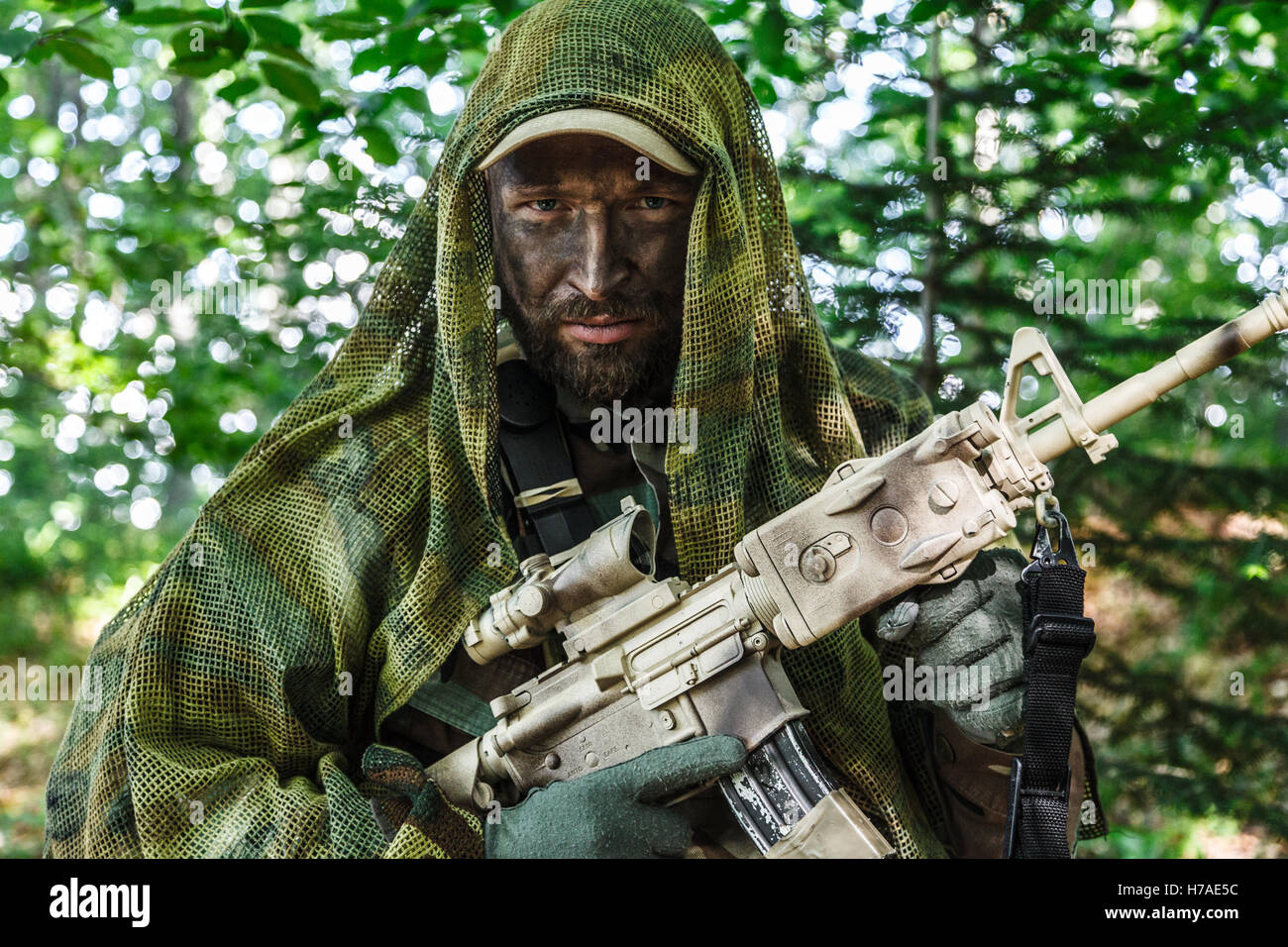 Delta Force Soldier Stock Photos & Delta Force Soldier Stock