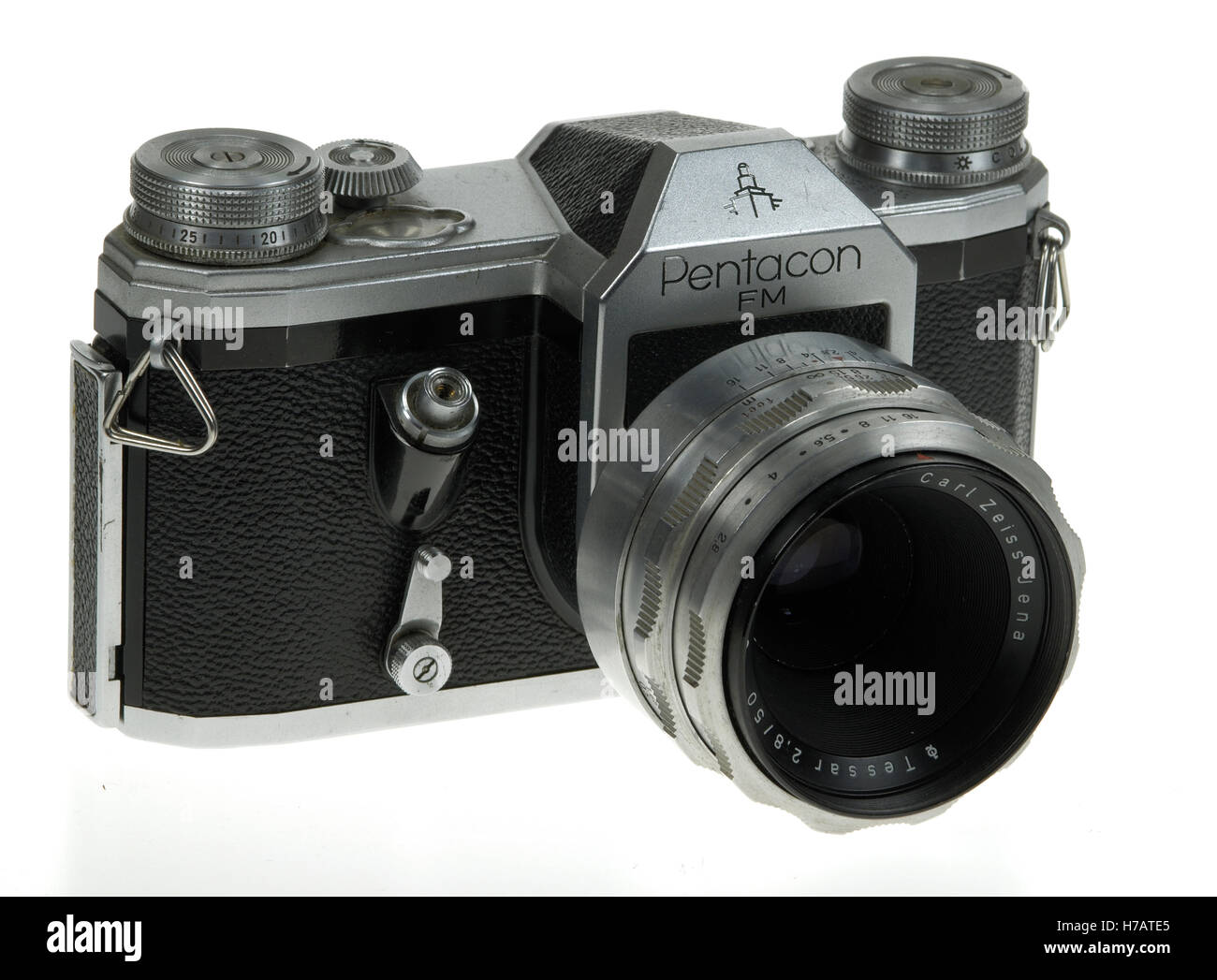 Pentacon FM SLR Camera circa 1957 - Stock Image
