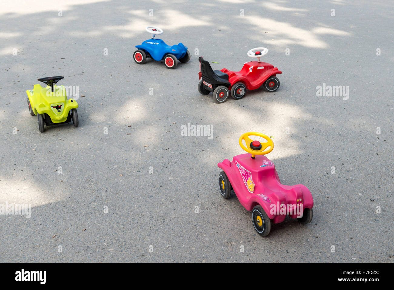 Toy Cars for Children - Stock Image