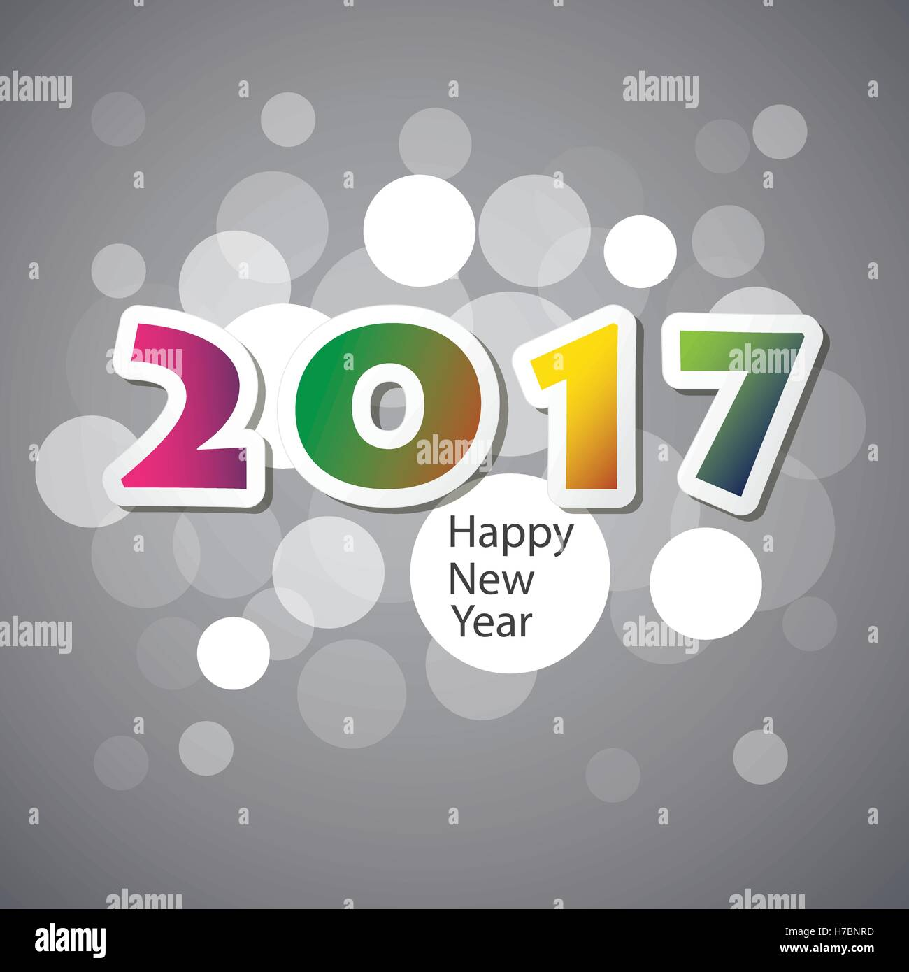 Best wishes colorful abstract modern style happy new year greeting best wishes colorful abstract modern style happy new year greeting card cover or background creative design template 2017 m4hsunfo
