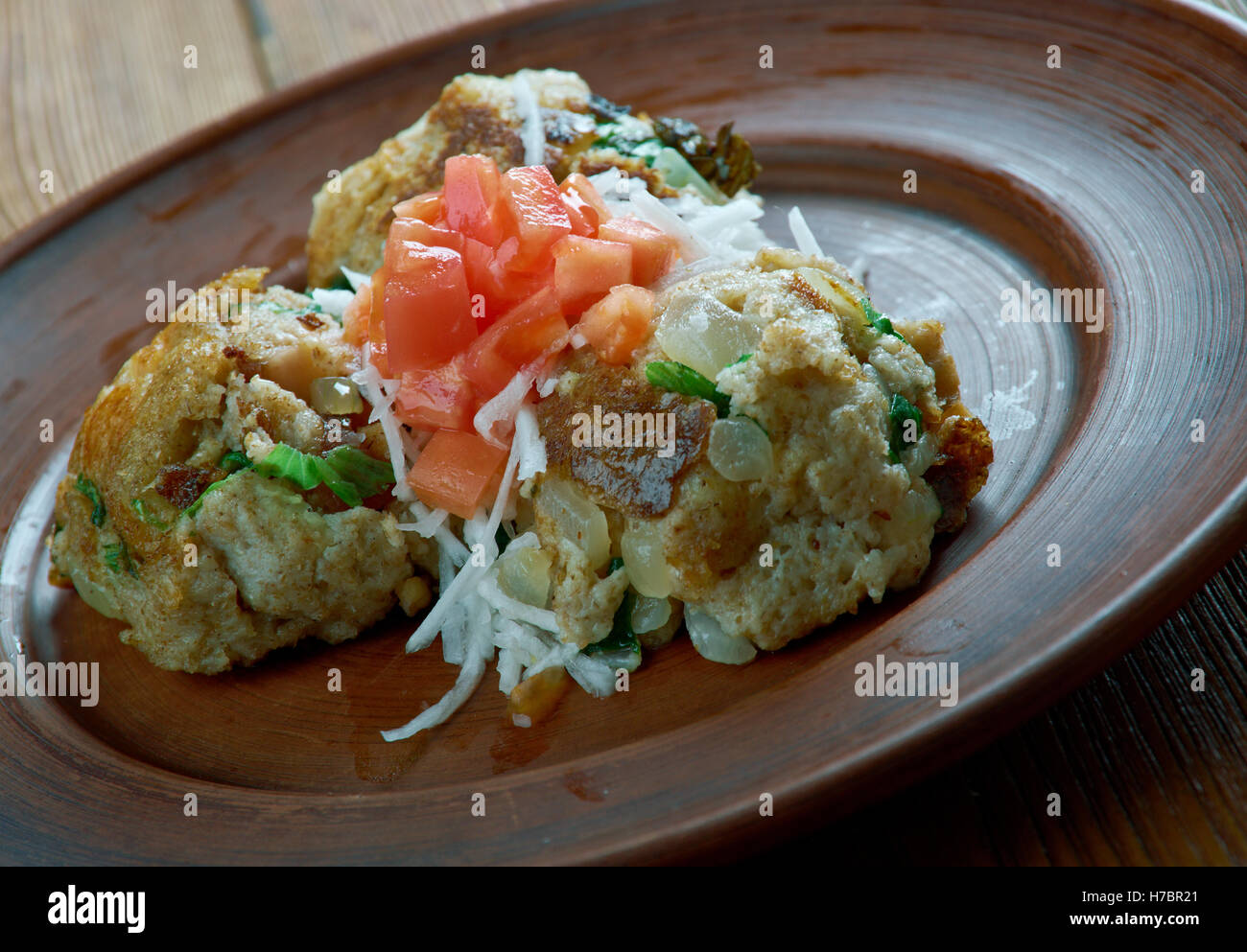 Knedle tyrolska -  polish bread dumplings - Stock Image