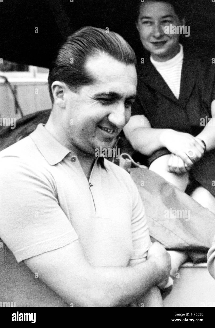 Alberto Ascari Stock Photo
